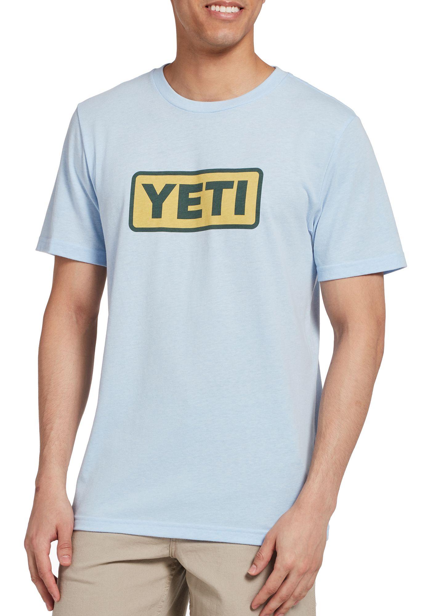 YETI Men's Core Badge Logo Short Sleeve T-Shirt