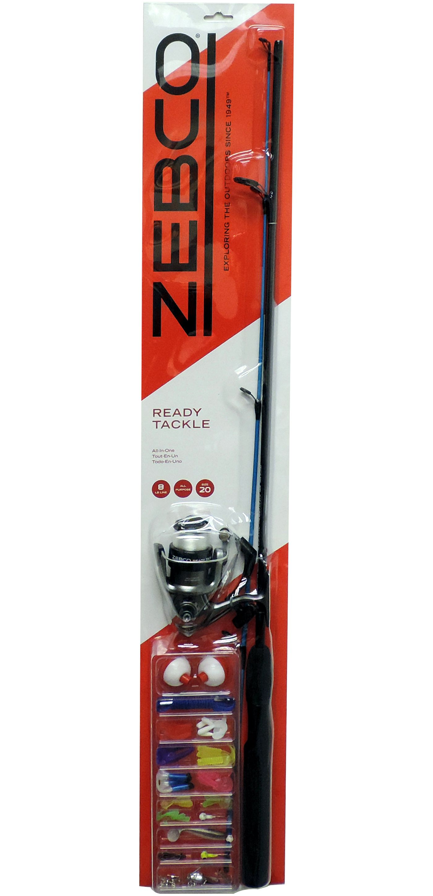 Zebco Ready Tackle Spinning Combo Kit