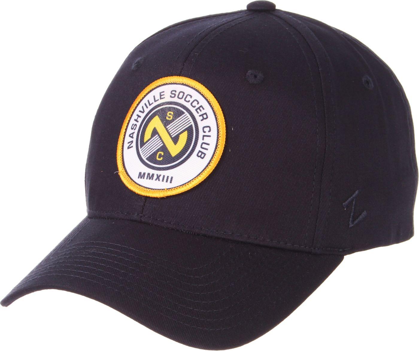 Zephyr Men's Nashville SC Navy Adjustable Hat