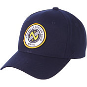 Zephyr Men's Nashville SC Competitive Navy Snapback Adjustable Hat