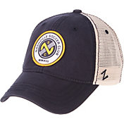 Zephyr Men's Nashville SC Unstructured Navy Snapback Adjustable Hat
