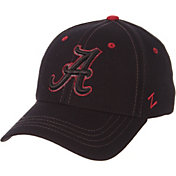 Zephyr Men's Alabama Crimson Tide Element II Black Adjustable Hat