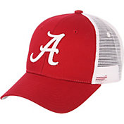 Zephyr Men's Alabama Crimson Tide Crimson/White Big Rig Adjustable Hat