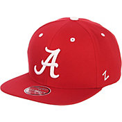 Zephyr Men's Alabama Crimson Tide Crimson Script Adjustable Snapback Hat