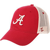 Zephyr Men's Alabama Crimson Tide Crimson/Cream Trucker Logo Snapback Hat