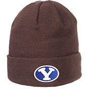 Zephyr Men's BYU Cougars Grey Cuffed Knit Beanie