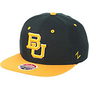 Zephyr Men's Baylor Bears Green/Gold Script Adjustable Snapback Hat