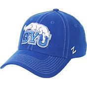 Zephyr Men's BYU Cougars Blue ZH Stretch Fit Hat