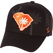 Zephyr Men's Clemson Tigers State Flag Adjustable Black Hat