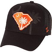 Zephyr Men's Clemson Tigers State Flag Adjustable Black Hat