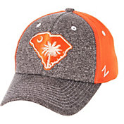 Zephyr Men's Clemson Tigers Grey/Orange State Flag Adjustable Hat