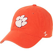 Zephyr Men's Clemson Tigers Orange Scholarship Adjustable Hat