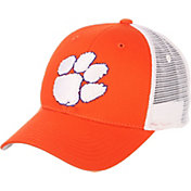 Zephyr Men's Clemson Tigers Orange/White Big Rig Adjustable Hat