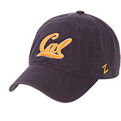 Zephyr Men's Cal Golden Bears Navy Scholarship Adjustable Hat