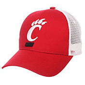 Zephyr Men's Cincinnati Bearcats Red/White Big Rig Adjustable Hat