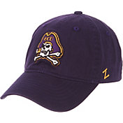 Zephyr Men's East Carolina Pirates Purple Scholarship Adjustable Hat