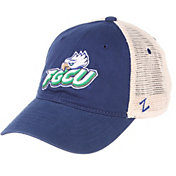 Zephyr Men's Florida Gulf Coast Eagles Colbalt Blue/Cream Trucker Logo Snapback Hat