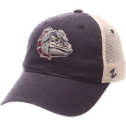 Zephyr Men's Gonzaga Bulldogs Blue/Cream Trucker Logo Snapback Hat