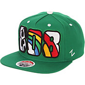 Zephyr Men's Hawai'i Warriors Green Adjustable Snapback Hat