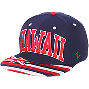 Zephyr Men's Hawai'i Warriors Navy Adjustable Snapback Hat