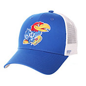 Zephyr Men's Kansas Jayhawks Blue/White Big Rig Adjustable Hat