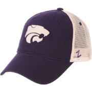 Zephyr Men's Kansas State Wildcats Purple/Cream Trucker Logo Snapback Hat