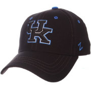 Zephyr Men's Kentucky Wildcats Element II Adjustable Black Hat