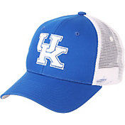 Zephyr Men's Kentucky Wildcats Blue/White Big Rig Adjustable Hat