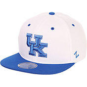 Zephyr Men's Kentucky Wildcats Blue/White Script Adjustable Snapback Hat