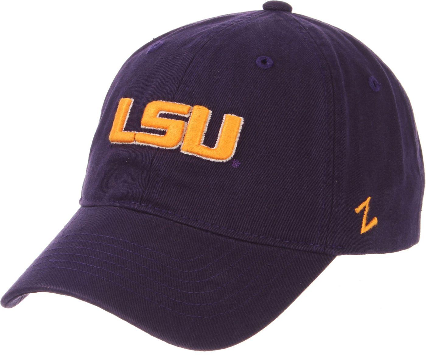 Zephyr Men's LSU Tigers Purple Scholarship Adjustable Hat