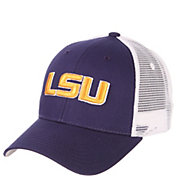 Zephyr Men's LSU Tigers Purple/White Big Rig Adjustable Hat