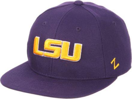 online retailer 6f2dc 69768 Zephyr Men  39 s LSU Tigers Purple M15 Fitted Hat