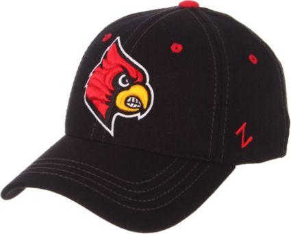 best sneakers c392d efcb3 Zephyr Men s Louisville Cardinals Element II Adjustable Black Hat.  noImageFound