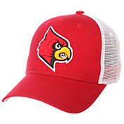 Zephyr Men's Louisville Cardinals Cardinal Red/White Big Rig Adjustable Hat