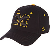 Zephyr Men's Michigan Wolverines Element II Adjustable Black Hat