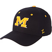Zephyr Men's Michigan Wolverines Blue DH Fitted Hat