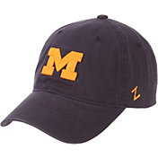 Zephyr Men's Michigan Wolverines Blue Scholarship Adjustable Hat