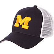 6eb096ca61d5fc Product Image · Zephyr Men s Michigan Wolverines Blue White Big Rig Adjustable  Hat
