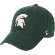 Zephyr Men's Michigan State Spartans Green Scholarship Adjustable Hat