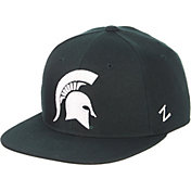 Zephyr Men's Michigan State Spartans Green M15 Fitted Hat