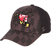 Zephyr Men's Maryland Terrapins 'Maryland Pride' State Adjustable Black Hat