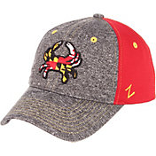 Zephyr Men's Maryland Terrapins Grey/Red 'Maryland Pride' Adjustable Hat