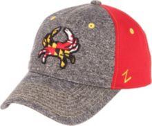 Zephyr Men s Maryland Terrapins Grey Red  Maryland Pride  Adjustable Hat 5d10aa08f69b