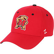 Zephyr Men's Maryland Terrapins Red Competitor Adjustable Hat