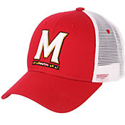 Zephyr Men's Maryland Terrapins Red/White Big Rig Adjustable Hat