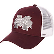 Zephyr Men's Mississippi State Bulldogs Maroon/White Big Rig Adjustable Hat