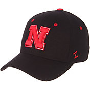 Zephyr Men's Nebraska Cornhuskers DH Fitted Black Hat