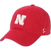 Zephyr Men's Nebraska Cornhuskers Scarlet Scholarship Adjustable Hat