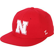 Zephyr Men's Nebraska Cornhuskers Scarlet M15 Fitted Hat