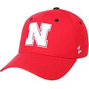 Zephyr Men's Nebraska Cornhuskers Scarlet DH Fitted Hat